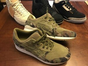 4399a51e21525 Asics Gel Lyte III 3 Martini Olive Green Sneakers Men New Shoes ...