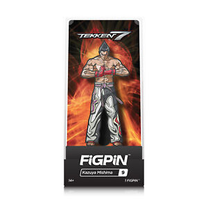 Figpin-Tekken-7-Kazuya-Mishima-collectible-pin-9-nouveau