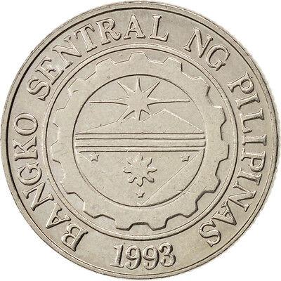 Fine [#45461] Philippines, Piso, 1997, Km #269, Au(55-58), Copper-nickel, 24, 6.08