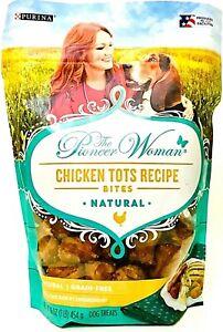 1 Purina 16 Oz The Pioneer Woman Chicken Tots Recipe Bites Natural Dog Treats