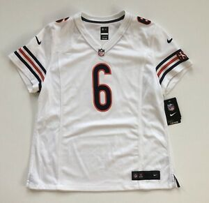 Details about Women's XL Jay Cutler Chicago Bears Alternate White Nike Game Jersey