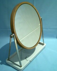 Sainsburys Marbel Wooden Bathroom Toilet Vanity Table Top Mirror On