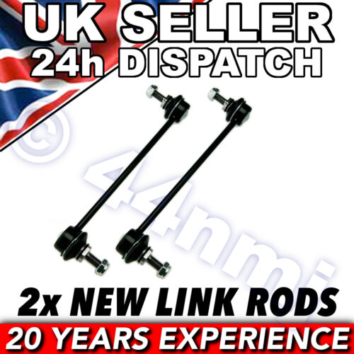 VAUXHALL MERIVA ALL FRONT ROLL BAR DROP LINK RODS x 2