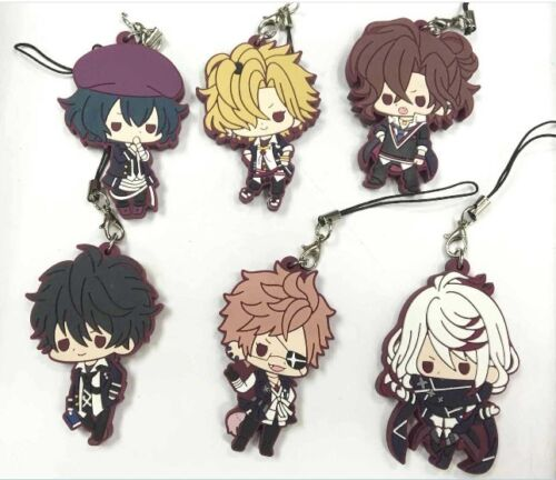 Anime Diabolik Lovers Rubber keychain Straps cosplay