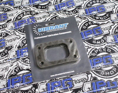 14310 Vibrant 1//2 Mild Steel Turbo Inlet Flange
