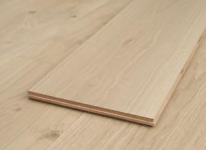 Supreme XL 300mm Extra Wide Unfinished Oak Engineered Wood Flooring £64.99