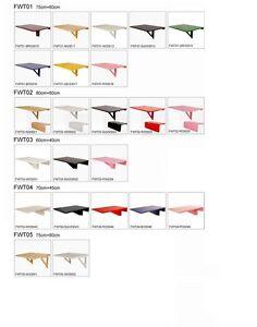 SoBuy-Table-murale-rabattable-en-bois-double-plateaux-pliable-80-60cm-FWT02-FR