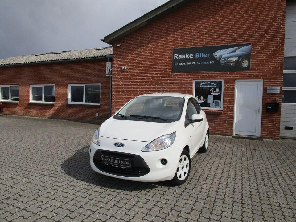 Ford Ka 1,2 Trend+ Benzin modelår 2013 km 29000 Hvid nysynet