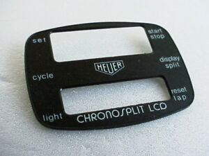 Heuer-Chronosplit-LCD-LCD-Cal-102-Stahl-Modell-102-703-Zifferblatt-NOS-perfekt