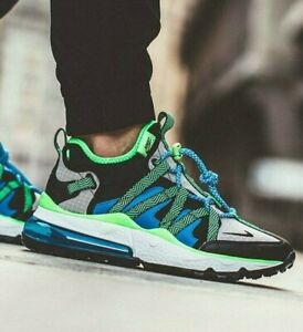 the latest 99043 e61ea Details about New NIKE Air Max 270 Bowfin Mens green blue sneaker all sizes