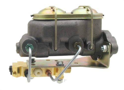 """Disc Master Cylinder 1-1//8/"""" Bore 2 Port w// Bottom Mount Proportioning Valve"""