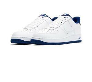 Nike Air Force 1 Blue Bottoms Low | eBay