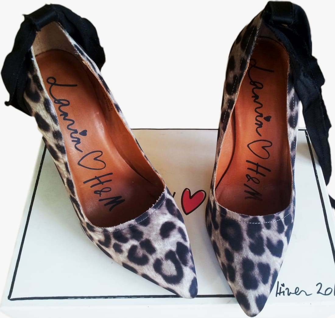 LANVIN for for LANVIN H&M Damens Leopard Pumps Größe 40 9 Leopard Heels Schuhes Stilettos 9 40 07be1b
