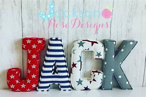 Fabric-letters-Wall-Art-Handmade-Nursery-name-personalised-girl-boy