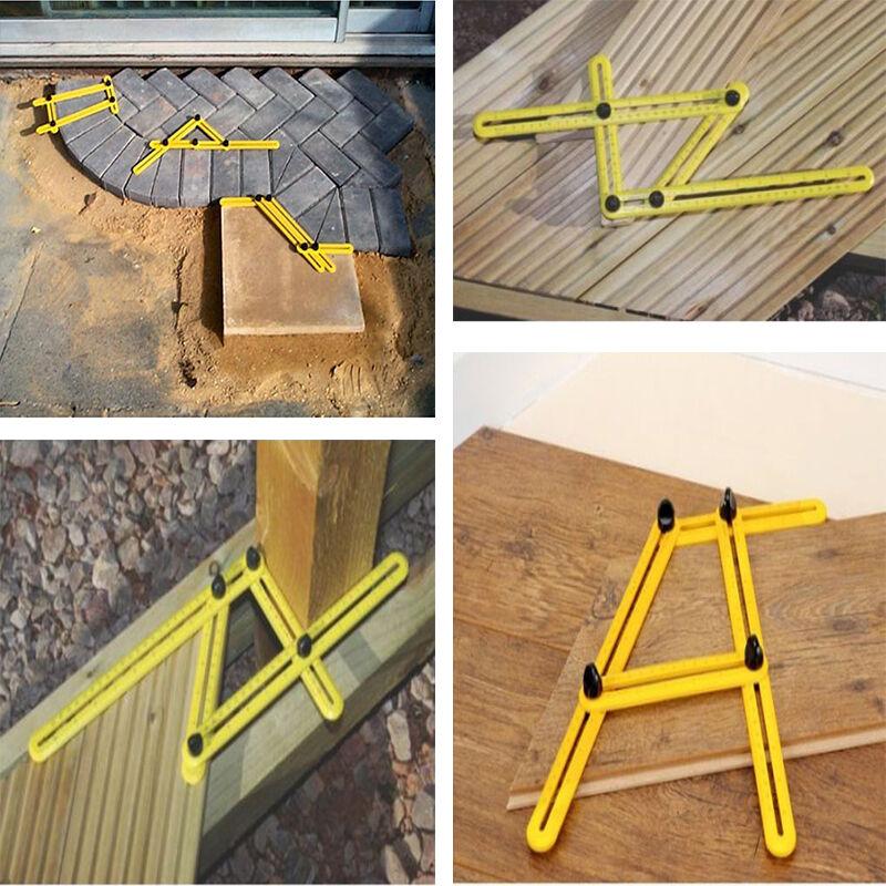 Купить Angle Ruler Easy Amenitee Multi-Angle Measuring Ruler Tool Template Carpenter