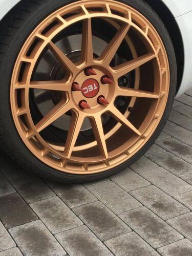Oro m14 x 1.5 tornillos perno de rueda 3.tlg VW AUDI skoda SEAT OPEL spiked