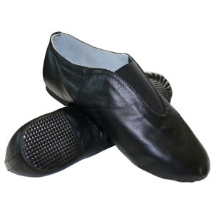 412803a41a8a7 Details about Danzcue Womens Leather Jazz Shoes