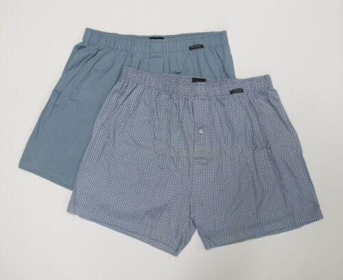 Schiesser Boxer 2er Pack bleu vert T 5//m.6//l,7//l 8//xxl Prix Recommandé 29,95 €