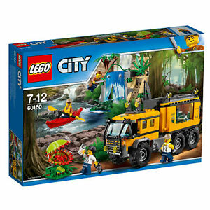 LEGO-City-60160-Mobiles-Dschungel-Labor-NEU-OVP