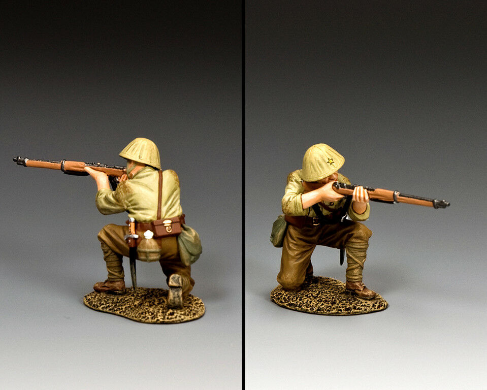 KING & COUNTRY WW2 JAPANESE NAVY JN051 JAPANESE KNEELING RIFLEMAN MIB