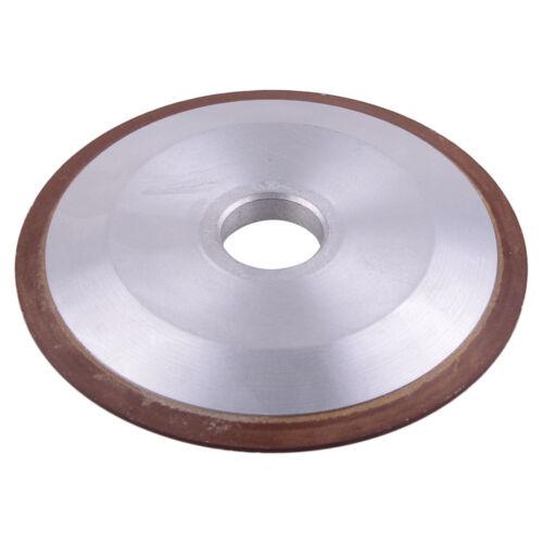 100mm Diamond Grinding Wheel Disc 150 Grit Grinder Cutter Fit For Carbide Metal