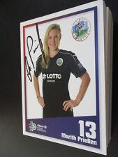 67951 Marith Prießen 1.FFC Frankfurt Damen original signierte Autogrammkarte