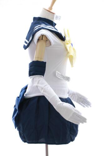 H-6008 Sailor Moon Uranus Haruka blau weiß Cosplay Kostüm costume Kleid dress