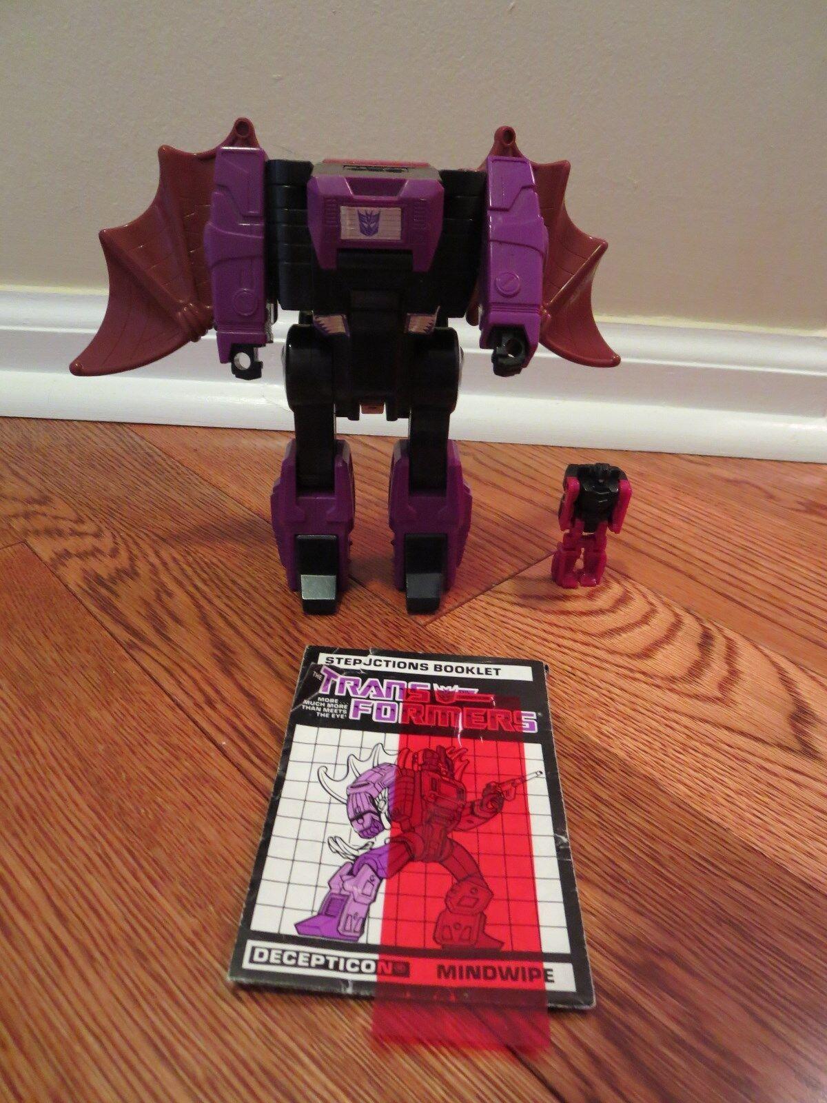 Mindwipe Director  casi completa 1987 Vintage Hasbro G1 Transformers