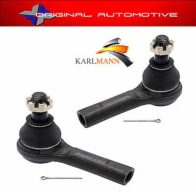 Steering Track Rod Ends Outer x2 For Navara Pickup D22 2.5TD 1998ON
