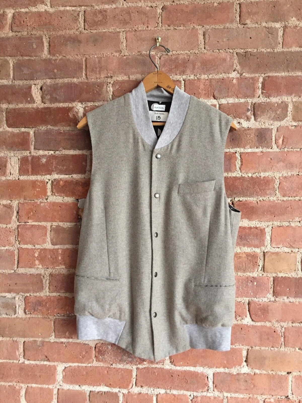 Paul Smith männer's Vest, wolleCashmere, Sample Sz Medium Editorial