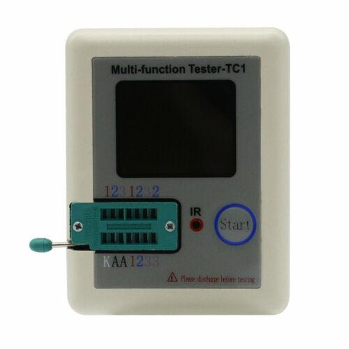 New Transistor Tester TFT Diode Triode Capacitance Meter LCR ESR NPN PNP MOSFET
