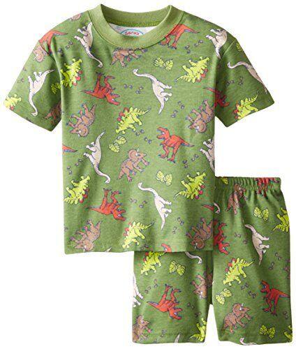 NWT Sara/'s Prints 100/% Cotton Boys Dinasor Short Pajamas Sleepwear set PJs 2  2T