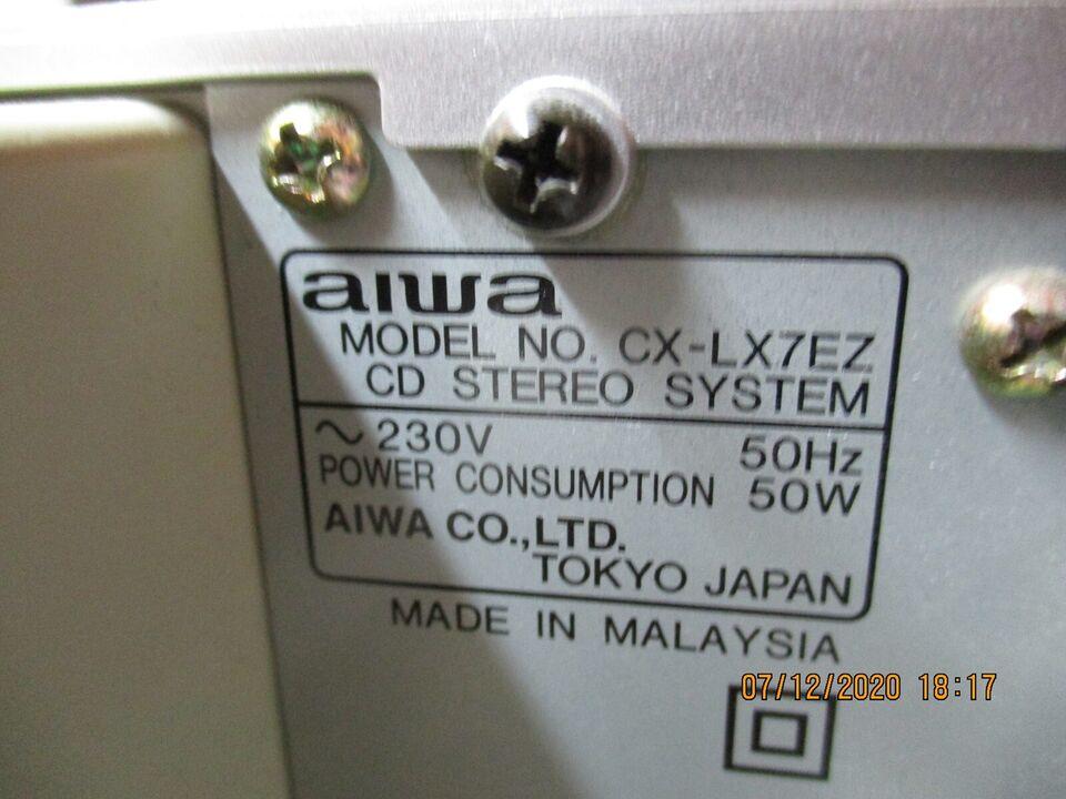 Stereoanlæg , Aiwa, xr-x7