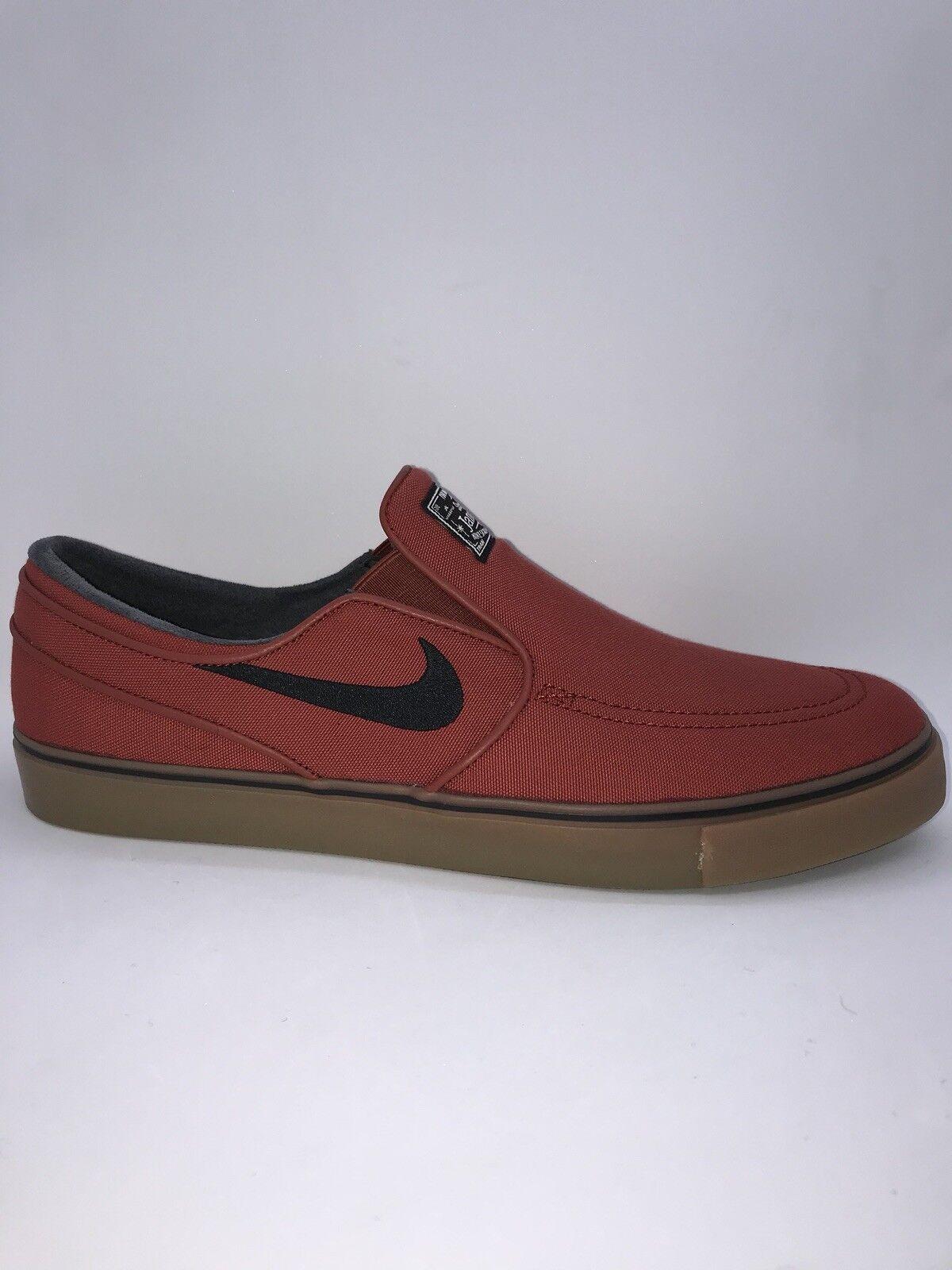 Nike Zoom Stefan Janoski Canvas Red Black