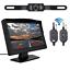 "Wireless Car Reverse Rear View Backup Camera Night Vision Kit 5/"" LCD Monitor"