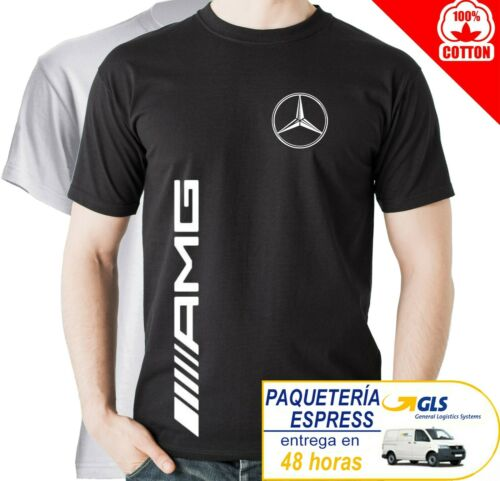 CAMISETA TIPO AMG MERCEDES SPORT RACING CARS T-SHIRT HOMBRE MAGLIA UOMO