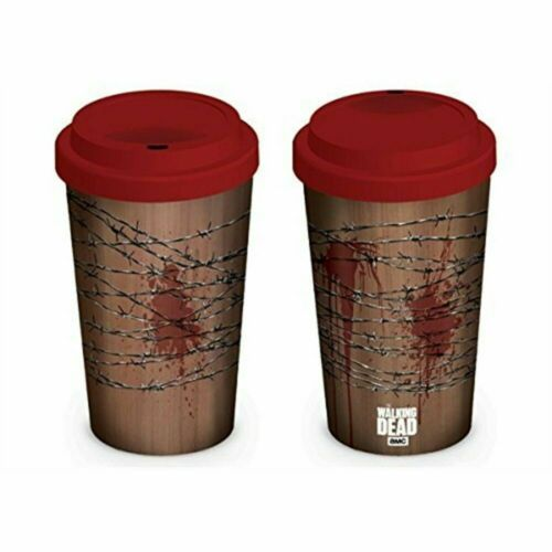 THE WALKING DEAD NEGAN LUCILLE CERAMIC TRAVEL MUG NEW 100/% OFFICIAL NEW