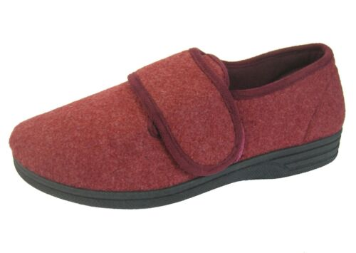 Pantofole Fitting Cozy Ee Comfort Burgundy Ladies Wide wfRFq