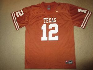 fab9b5fb Details about Colt McCoy #12 Texas Longhorns Football nike Jersey Youth XL  18-20