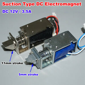 DC 12V Small Mini Electromagnet Micro Cabinet Door Lock Electric Magnet Control