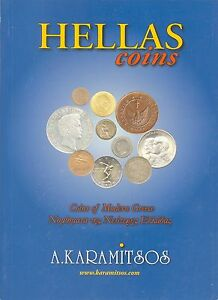COINS CATALOGUE OF GREECE Greek /& English Languages Years 1828-2007 HELLAS 2008