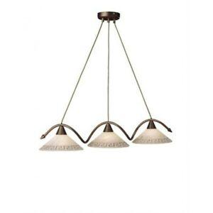 Pendelleuchte Abelard glaspendel rústico péndulo lámpara de 5937-03-43 grupos