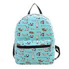 Womens Girls Canvas Backpack Shoulder School Bag Travel Outdoor Rucksack Satchel