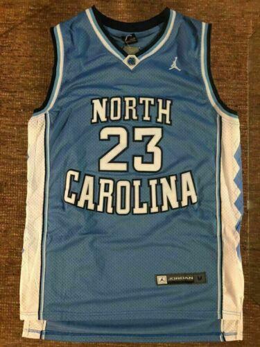 Michael Jordan 23 CAROLINA TARHEELS Basketball Jersey Blue