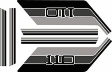 Land Rover Decals Stripes 110 2 door Defender Landrover Graphics stickers
