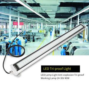 CNC-Machine-LED-Lamp-Light-Waterproof-Tri-proof-Working-Lamp-24-36V-40W-US