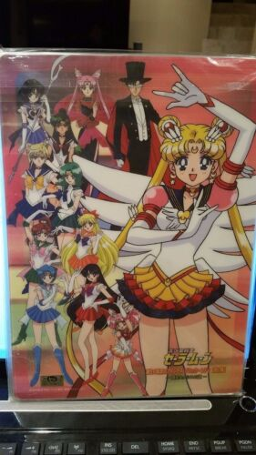 Sailor Moon Musical Sera Myu Shitajiki Pencil Board Set of 5