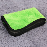 New 45cmx38cm Super Thick Plush Microfiber Car Cleaning Cloths Towel SY