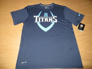 f4ef3bb05e87 Tennessee Titans Football ICON Men s Nike Dri Fit T-Shirt Navy Blue ...