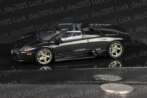 AUTOart LAMBORGHINI MURCIELAGO Concept Car Metallic Black 1//43 Diecast Model